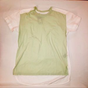 Linen and cotton MbMJ tee, NWOT